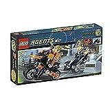 LEGO Agents 8967 - Goldzahns Flucht - LEGO