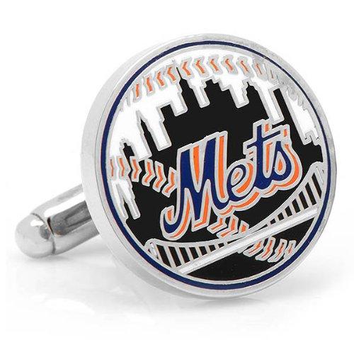 New York Mets Baseball Cufflinks