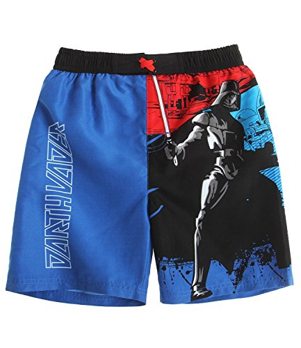 Star Wars-The Clone Wars Darth Vader Jedi Yoda Ragazzi Shorts da mare - blu - 152