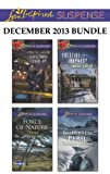 img - for Love Inspired Suspense December 2013 Bundle: Christmas Cover-Up\Force of Nature\Yuletide Jeopardy\Wilderness Peril book / textbook / text book