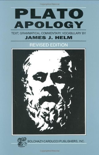 Plato: Apology (Greek Edition)