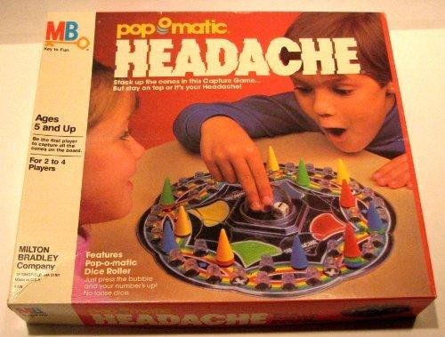 Vintage Pop-o-matic Headache Game - 1986 (Headache Board Game compare prices)