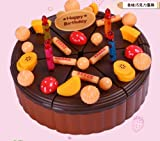 Christmas Gift Kids Birthday Gift Chocolate Happy Birthday Cake Set Creative Assembles Toys Role Play Toys