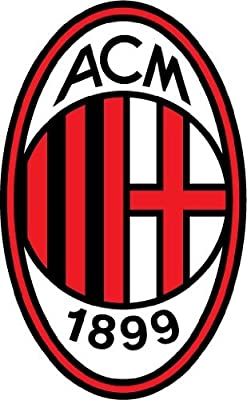 A.C. Milan FC Italy Europe Soccer Football Car Bumper Sticker Decal 3