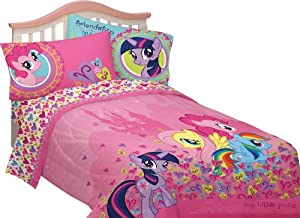 Hasbro MB237C My Little Pony Heart to Heart Sheet Set, Full