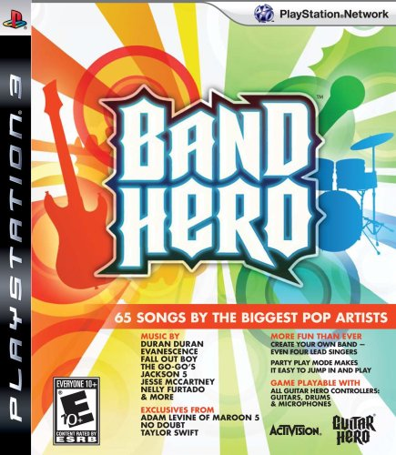 Band Hero featuring Taylor Swift - Stand Alone Software - Playstation 3 - 1