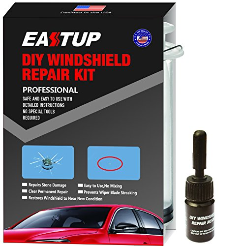 Eastup Windshield Repair Kit Chip Fix DIY Tools for 3 Chips (Windshield Rock Chip Repair Kit compare prices)