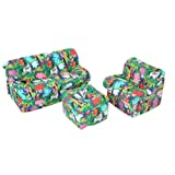 Children's 3Piece Sofa Set (Mini Mushroom), Jungle ~ American Furniture...