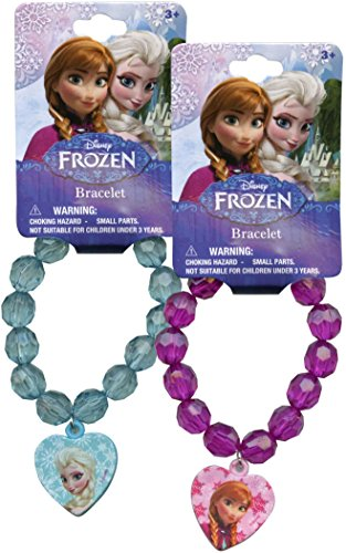 "Disney's ""Frozen"" Beaded Bracelet with Charm - 1"
