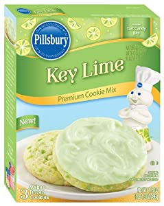 Pillsbury Key Lime Premium Cookie Mix (Pack of 2)