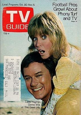 1971-tv-guide-october-30-larry-hagman-donna-mills-glen-campbell-longstreet