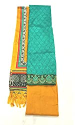 BEAUVILLE VAIIBAVAM Women's Unstiched Salwar Material (BVPCUC_103_Multi_Free Size)
