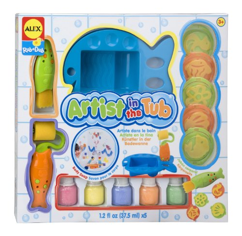 ALEX Toys Rub a Dub Artist in the Tub Set