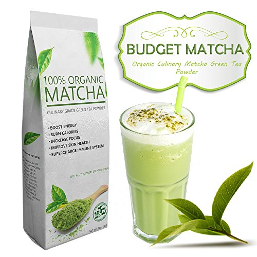 Budget Matcha - All-Natural - USDA Organic - - Ideal for Starters - Great Quality at Low Cost (16oz) (Honey Delight Tomato Seeds compare prices)
