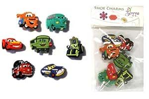 7 Stück Pixar Cars #2 Spaß Satz des Schuh Schmucken