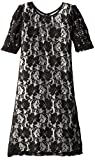 Ruby Rox Big Girls' Allover Lace Dress