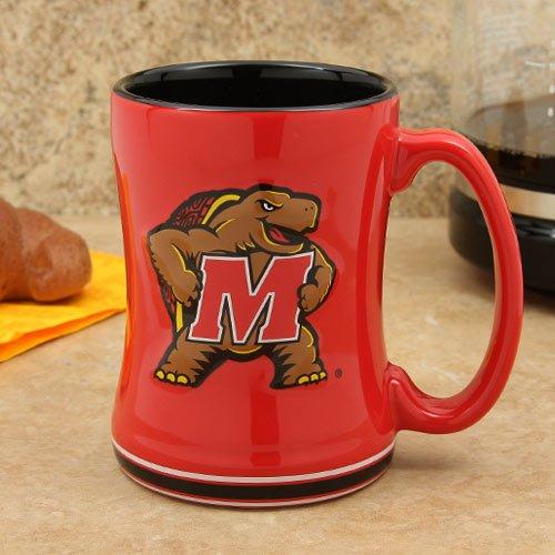 Boelter Brand Maryland Terrapins 15 Oz. Relief Mug