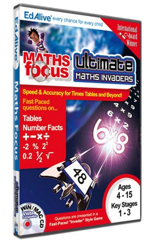 Ultimate Maths Invaders (PC CD)