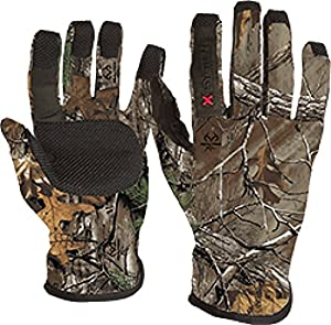 Lightweight Gloves w/X System Tech Realtree AP Large