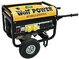 Wolf WP3500LR, 3200 Watt, 6.5HP, 4 KVA, Petrol Generator 230v & 110v