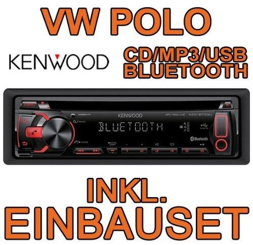 Volkswagen polo 9N kenwood-kDC-bT33U avec