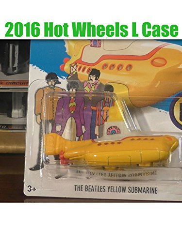 2016 Hot Wheels J Case Unboxing
