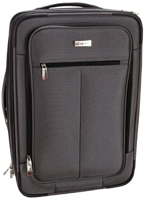 Traveler's Choice Sienna 21 in. Hybrid Rolling Carry-On Garment Bag / Upright by Travelers Choice