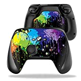 MightySkins Protective Vinyl Skin Decal for Valve Steam Controller case wrap Cover Sticker Skins Splatter (Color: Splatter, Tamaño: Valve Steam Controller)