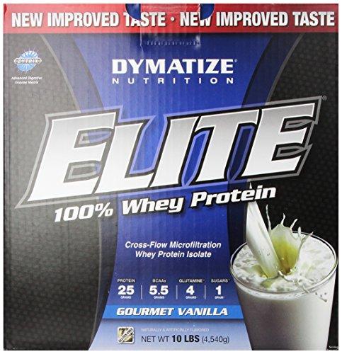 Dymatize Nutrition Elite Whey Protein Isolate - 10 Lbs (Gourmet Vanilla)