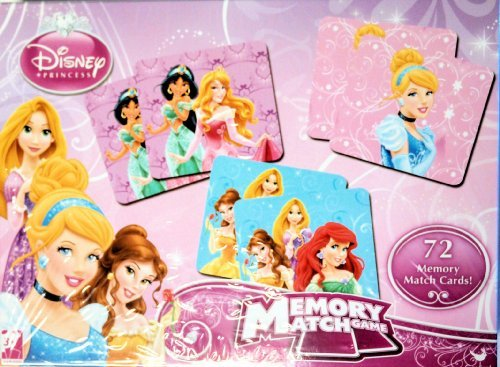 Disney Princess Memory Match Game by Cardinal