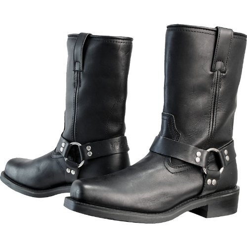 WBCM41 - Weise Cowboy Motorcycle Boots 41 Black (UK 7)