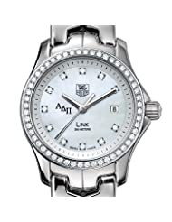ADPi Women's TAG Heuer Link Watch with Diamond Bezel