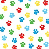 Creative Converting Paw-Ty Time Birthday Beverage Napkins, 18-Count
