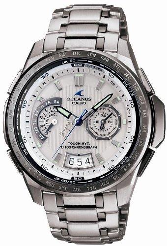 CASIO (カシオ) 腕時計 OCEANUS Classic オシアナス クラシック タフソーラー電波時計 タフムーブメント MULTIBAND 6 マルチバンド 6 OCW-T750TDC-7AJF メンズ