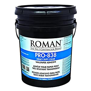 Roman 011305 pro 838 heavy duty wallpaper adhesive 5 gal - Commercial wallpaper pasting machine ...