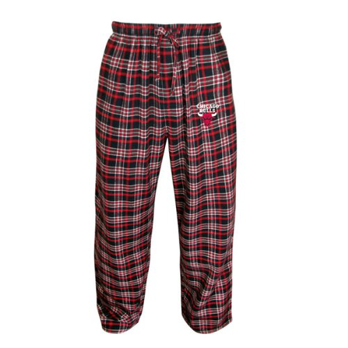 Chicago Bulls Adult Empire Flannel Pants (Large-Xlarge) at Amazon.com