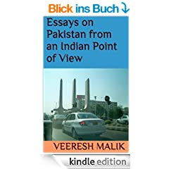 Essays on Pakistan from an Indian Point of View