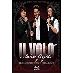 Il Volo Takes Flight: Live From The Detroit Opera House [Amazon.com Exclusive] [Blu-ray]