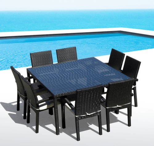 Canberra 9 piece outdoor dining set bed mattress sale for Outdoor furniture canberra