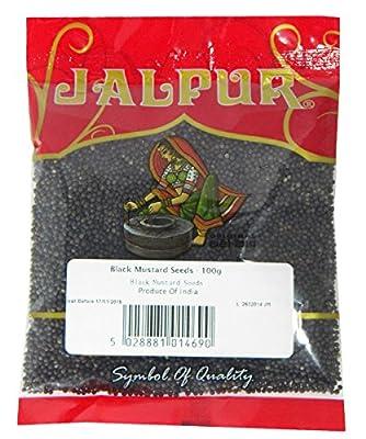 Schwarze Senfsamen - 100 g von Jalpur bei Gewürze Shop