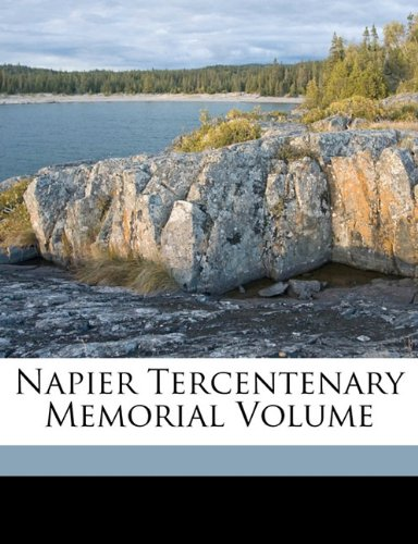 Napier tercentenary memorial volume