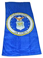 Officially Licensed U.S. AIR Force Beach Towel from The Northwest Company