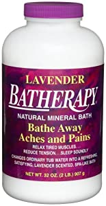 Queen Helene Batherapy Mineral Bath Salts, Lavender, 2 Pound [Packaging May Vary]