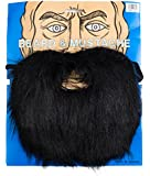 Loftus Full Lumberjack Mountain Man Beard & Moustache Set Black One Size