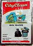19x21 Inches City Clean Disposable Garbage Trash Waste Dust bin Bags (30.00)
