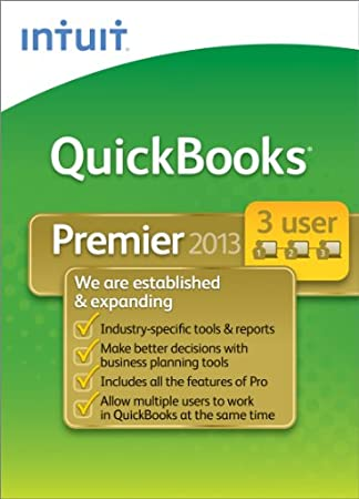 QuickBooks Premier Industry Editions 2013 - 3 User [Download]