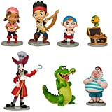Jake and the Neverland Pirates Playset 7PC Figurine Set