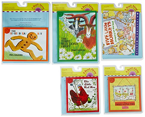 houghton-mifflin-harcourt-9780547428949-favorite-stories-read-along-book-set-with-cd-pack-of-5