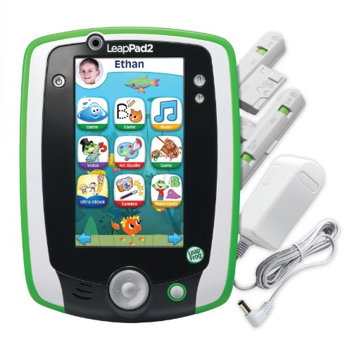 Leapfrog Leappad2 Power Learning Tablet, Green front-64720