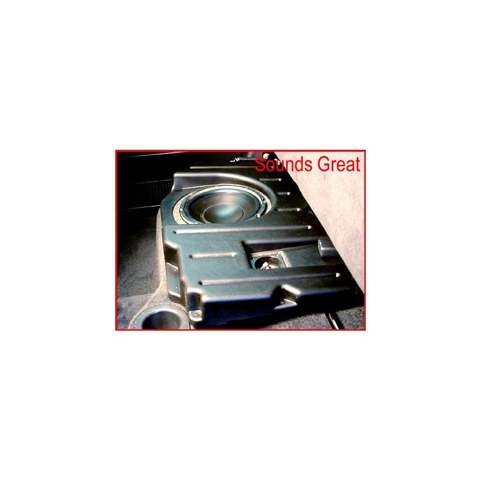 DODGE RAM QUAD CAB Q Logic Custom Subwoofer Enclosure UNLOADED for 1 10 Inch Sub Q Customs DQC110  Passenger Side